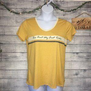 Maurices This Ain't My First Rodeo Graphic SZ L